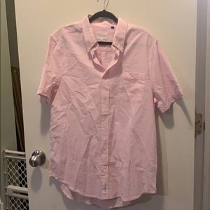 Five Four pink button down